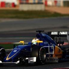 Segundo día de test para Marcus Ericsson