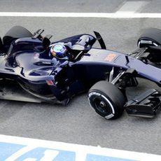 Max Verstappen se estrena en el Toro Rosso