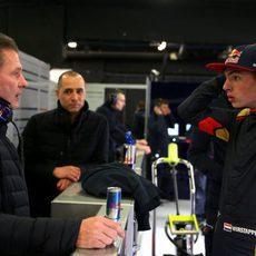 Padre e hijo Verstappen