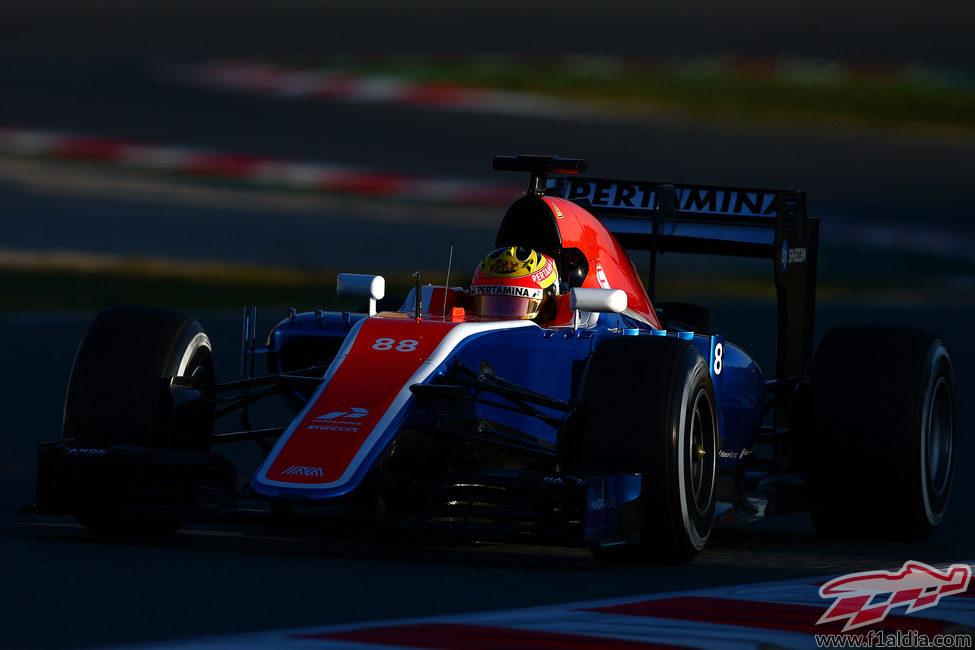 Debut de Rio Haryanto con Manor Racing