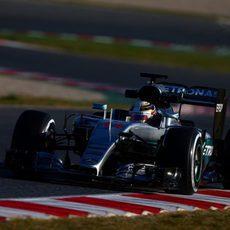 Tiempos discretos de Lewis Hamilton