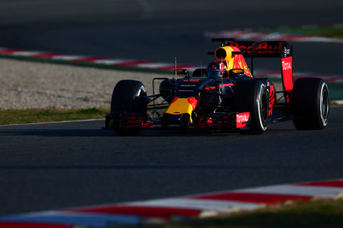 Red Bull ha tenido que terminar antes el día por un problema recurrente