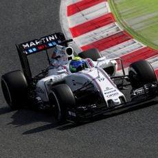 Felipe Massa confía en que el equipo siga exprimiendo la velocidad del coche