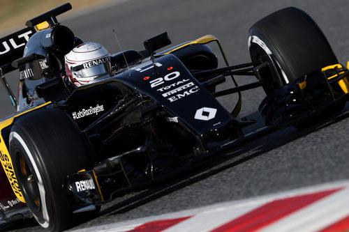 Alegría en Renault a pesar de los problemas