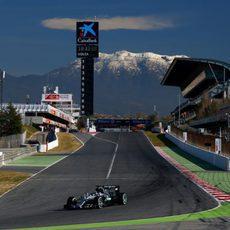 Nico Rosberg ha sido el más rápido de la jornada