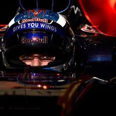 Max Verstappen ha probado el nuevo STR11