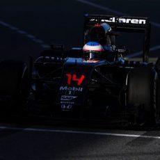 Fernando Alonso ha tenido mejor día que en la pasada semana