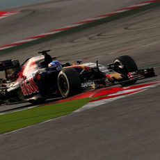 Max Verstappen completó 144 vueltas