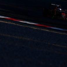 Fernando Alonso rueda en el séptimo día de test en Montmeló