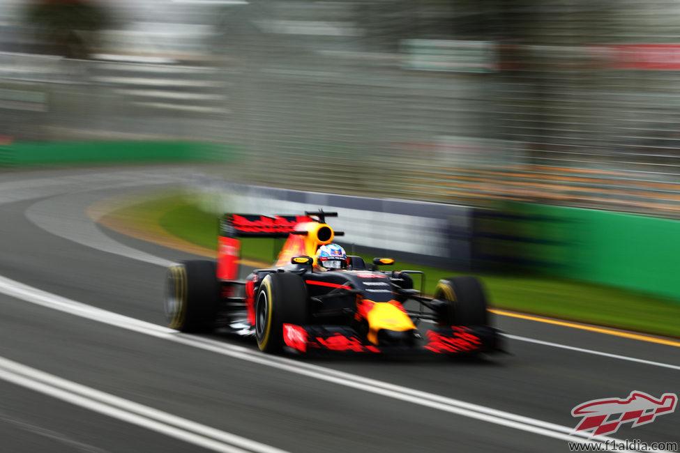Daniel Ricciardo es el piloto local
