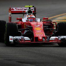 Kimi Raikkonen parece estar a un nivel más alto que la pasada temporada
