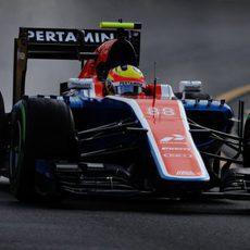 Rio Haryanto debuta en la Fórmula 1 con Manor