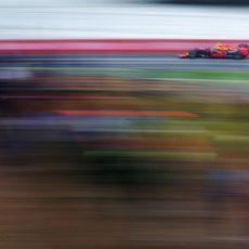Daniil Kvyat no se encontró del todo cómodo con el Red Bull