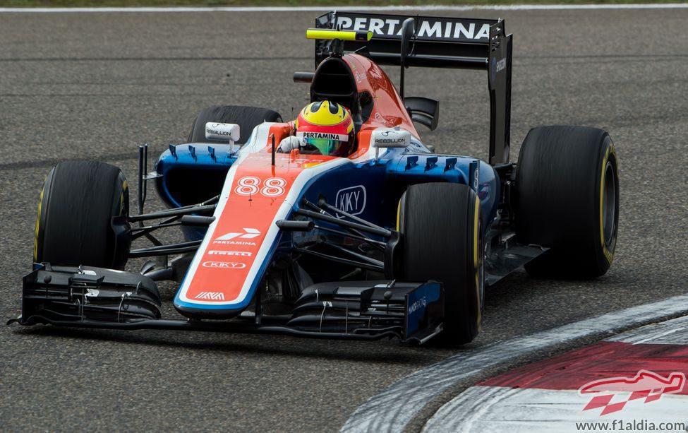 Rio Haryanto afronta su tercer GP en F1