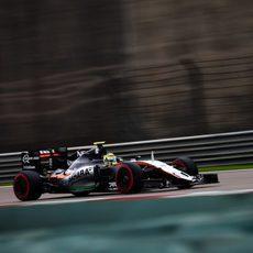 Sergio Pérez superó a Nico Hülkenberg en la clasificación de China