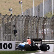 El Manor de Wehrlein queda fuera de combate en Q1