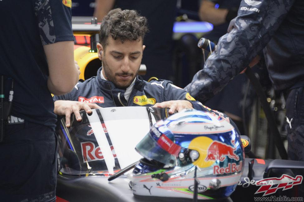Red Bull muestra su cúpula en su garaje