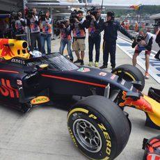 Daniel Ricciardo, el más esperado de la sesión