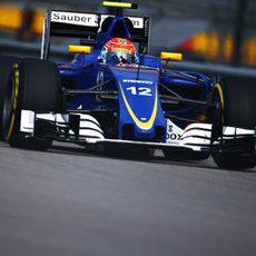 Felipe Nasr en el GP de Rusia