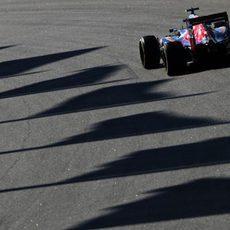 Carlos Sainz empieza con las tandas largas con el blando