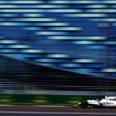 Valtteri Bottas extrae el máximo de sus neumáticos
