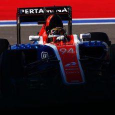 Pascal Wehrlein rueda con el neumático más blando del fin de semana