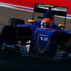 Felipe Nasr extrae el máximo de su nuevo chasis