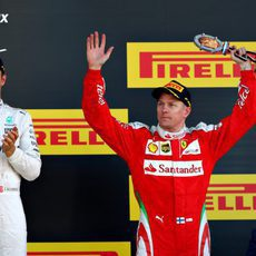 Tercer puesto en Rusia para Kimi Räikkönen