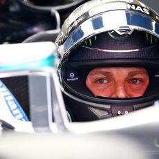 Mirada fija de Nico Rosberg