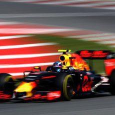 Max Verstappen acaba en cuarta posición en FP3