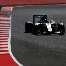 Nico Rosberg acaba primero de nuevo en FP3