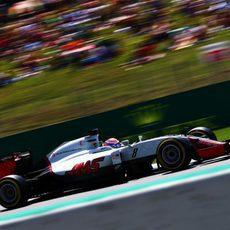 Romain Grosjean no logra entrar en Q3