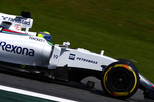 Felipe Massa tuvo tráfico en su vuela rápida
