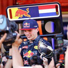 Max Verstappen acapara la atención de la prensa