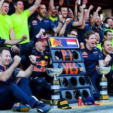 Grito de gloria de Red Bull en Barcelona