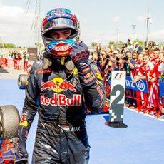 Max Verstappen, piloto más joven de la historia en ganar un GP