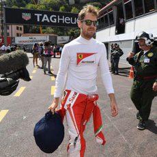 Sebastian Vettel acaba decepcionado la clasificación