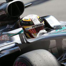 Lewis Hamilton volvió a tener problemas en la Q3