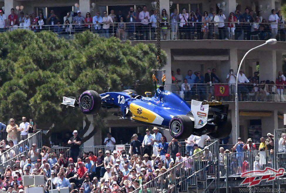 El Sauber de Felipe Nasr tampoco pasó de la Q1