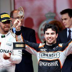 Sergio Pérez logra un fantástico tercer puesto en Mónaco
