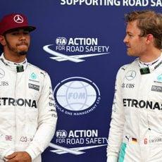 Lewis Hamilton y Nico Rosberg, rivales y compañeros