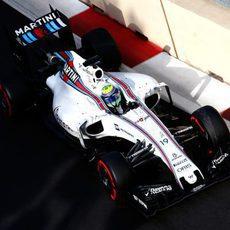 Felipe Massa prueba el superblando con su Williams