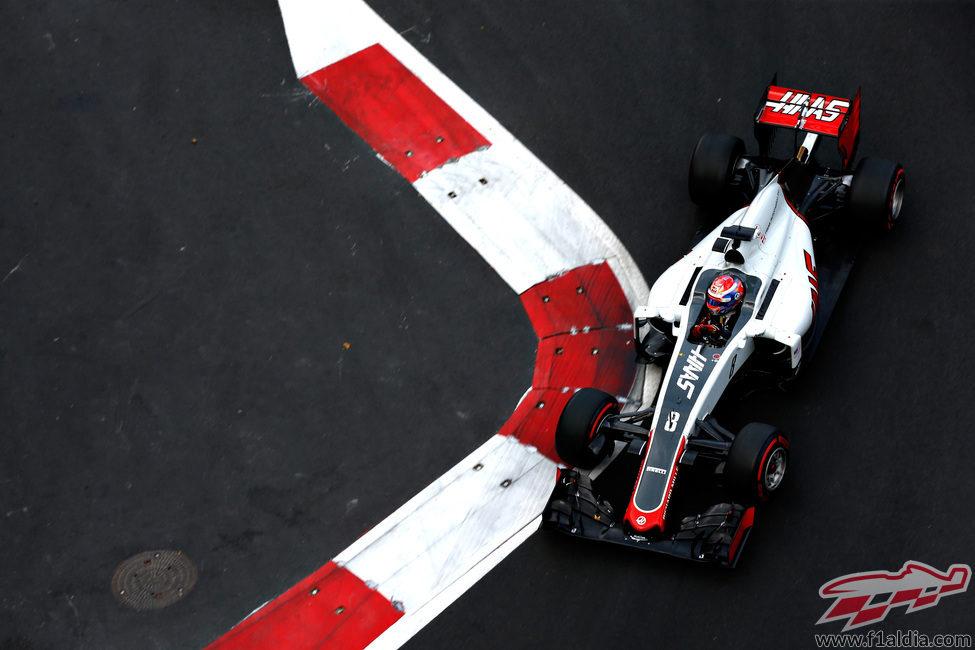 Romain Grosjean se queda a las puertas de la Q3