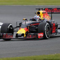 Neumático medio para Daniel Ricciardo