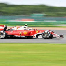 Kimi Räikkönen rueda con más motivación