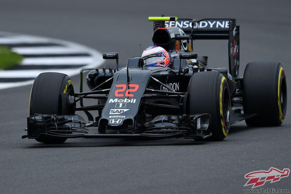 Jenson Button busca sumar puntos de nuevo