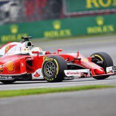 Más pruebas para Sebastian Vettel en Silverstone