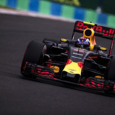 Max Verstappen prueba el circuito de Hungaroring