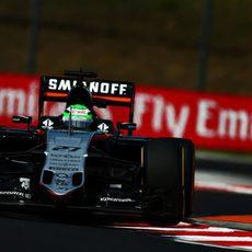 Nico Hülkenberg completa el programa de Force India