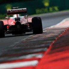 Sebastian Vettel se queda quinto en clasificación